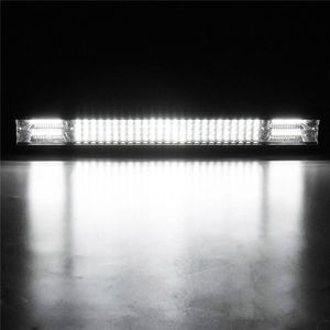 Image 4 - 10D Quad שורות 4   36 אינץ LED בר LED אור בר לרכב טרקטור סירת OffRoad מכביש 4WD 4x4 משאית SUV טרקטורונים נהיגה 12V 24V