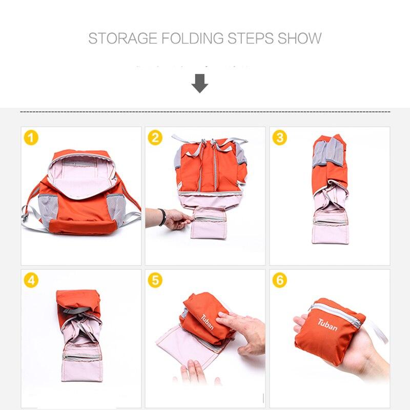 Qatlanabilir Ultralight Açıq Çanta Suya davamlı Portativ - İdman çantaları - Fotoqrafiya 5