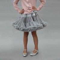 Bow patchwork Layer Fluffy Children Ballet Skirt Party Dance Kid Tulle Miniskirt 1 8T Mesh Girl Tutu Skirt Ballerina Pettiskirt