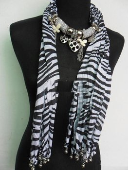 2013Pendant necklace scarves womens scarves shawls novel scarves cotton fashion scarves фото