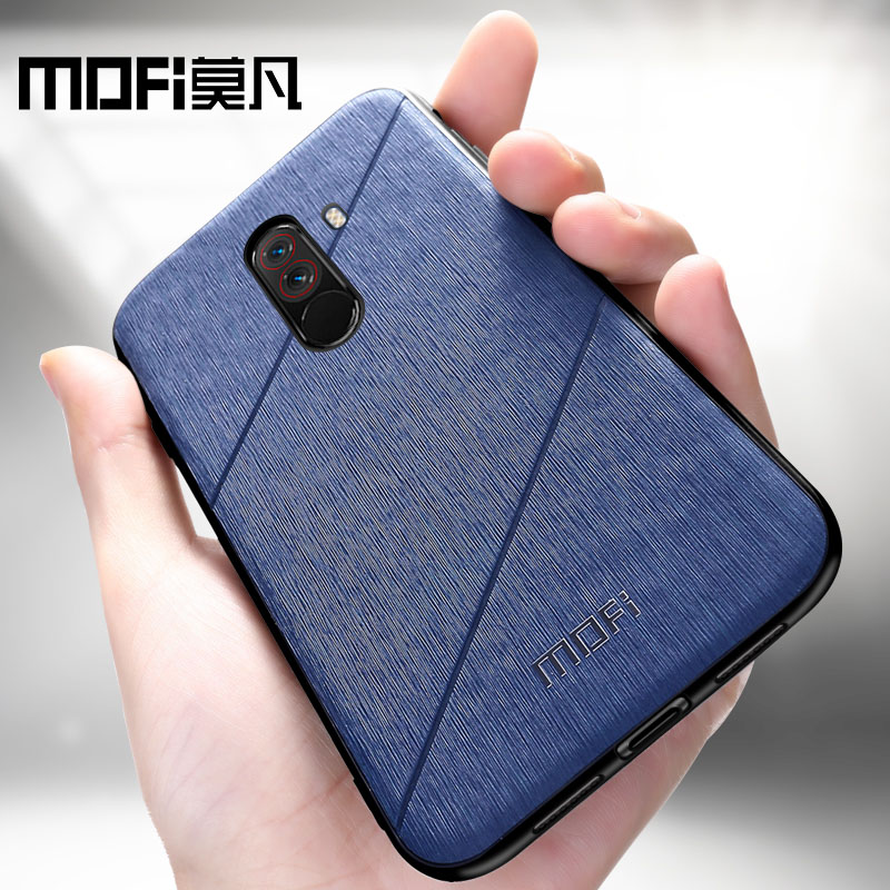 MOFi original Xiaomi POCOPHONE F1 case cover POCO F1 global back cover shockproof fitted phone case fundas POCOPHONE F1 case