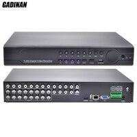 Gadinan 16CH 960 H D1 CCTV DVR реального времени воспроизведения с HDMI выход DVR 16 канальный гибридный DVR Onvif P2P для аналоговых CVBS Камера