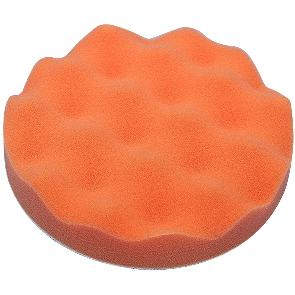 1 шт. Губка для полировки автомобиля губка для полировки Авто полирующая пена прочный набор колес портативный 6 дюймов - Цвет: orange