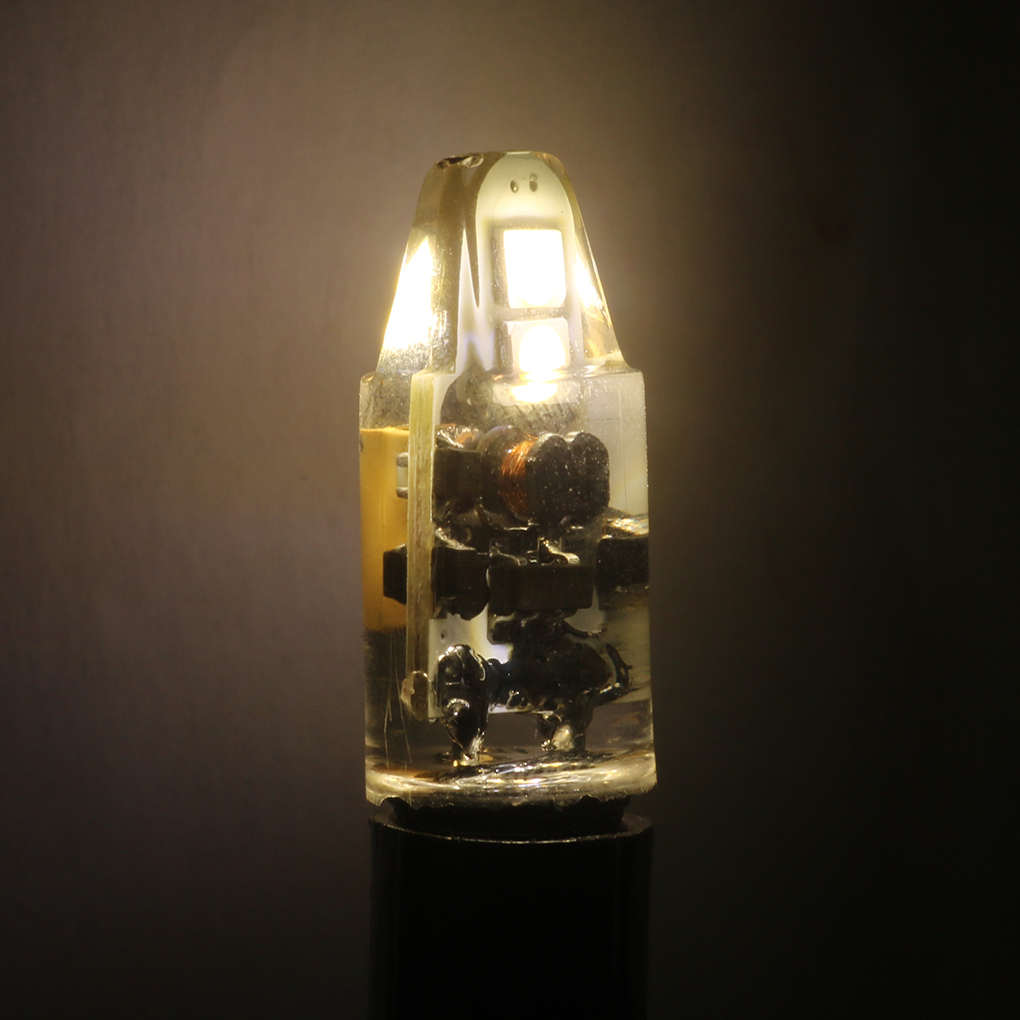 High Quality AC/DC12V-<font><b>24V</b></font> <font><b>G4</b></font> 4LED 1.5W Corn <font><b>Light</b></font> SMD 2835 <font><b>Bulb</b></font> Replacement Chandelier Halogen Lamp <font><b>LED</b></font> <font><b>Light</b></font> <font><b>Bulb</b></font> image