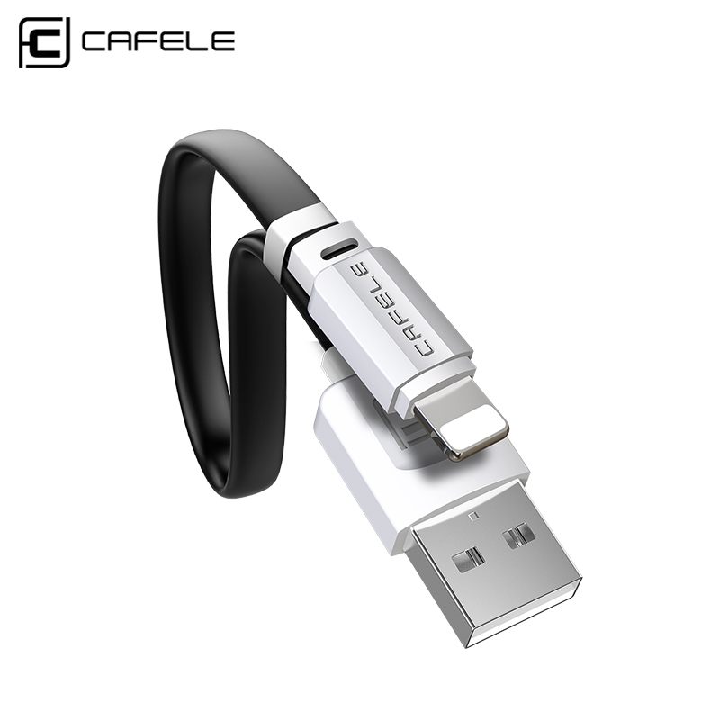 Cafele USB Cable for Fast Charging USB cable For iphone X Xr Xs 8 7 6s plus SE 5s ipad Data Sync IOS Cable Mobile Phone Cables-in Mobile Phone Cables from Cellphones & Telecommunications on AliExpress