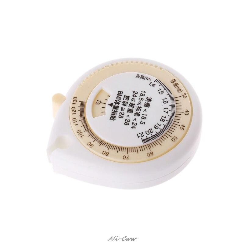 150cm Tape Measure BMI Body Mass Index Waist Hip Retractable Measurement Ruler
