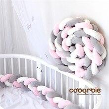 200 см Детские плетеные кроватки бамперы узел подушка, детские постельные принадлежности, детская кроватка dector