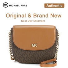 Michael Kors Half Dome Leather Crossbody Luxury Handbags For Women Bags  Designer by Coach(China 34d0164a4def