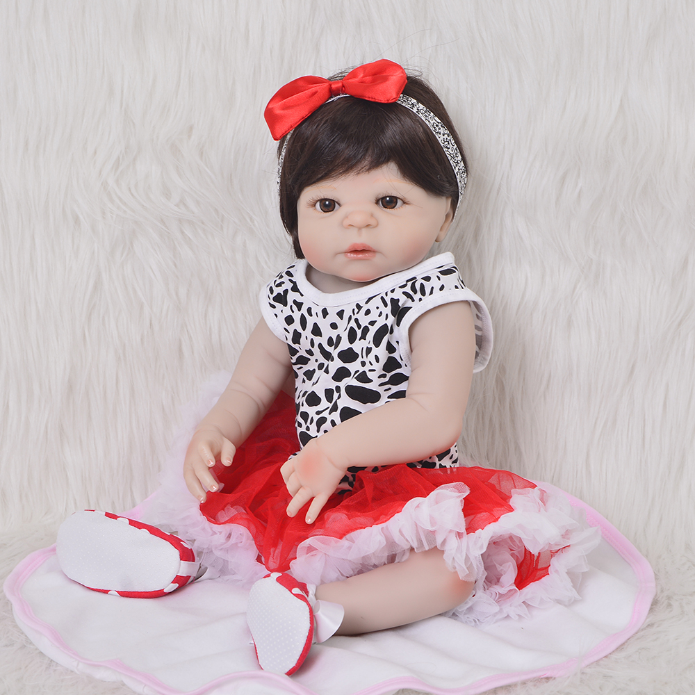 NPK 23 Full Body Silicone Reborn Baby princess doll toy bathe Play House dolls modeling reborn bonecas kids gift doll toysNPK 23 Full Body Silicone Reborn Baby princess doll toy bathe Play House dolls modeling reborn bonecas kids gift doll toys