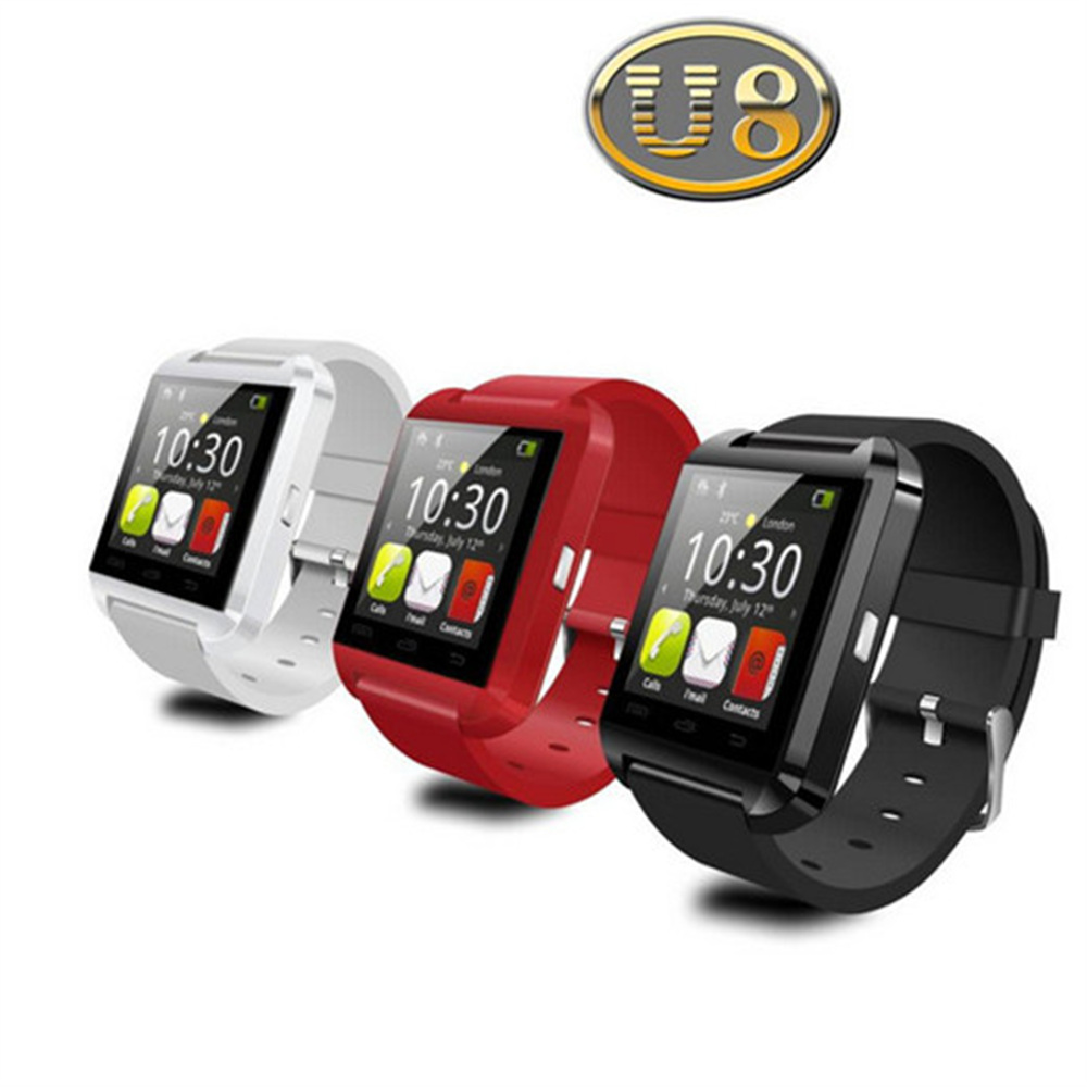 Bluetooth u8 Smart Watch android MTK smartwatchs for Samsung S4/Note 2/Note3 HTC xiaomi for Android Phone PK U80 GT08 DZ09 A1