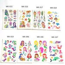 30Pcs Tattoo For Kids Birthday Gift Cute Cartoon Fake Taty Children Body Art Waterproof Temporary Tattoo Sticker