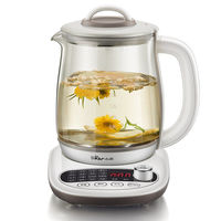 Electric Kettle Health Pot Automatic Thickened Glass 1.8 Liters Multifunctional Health Pot Kettle Boil Tea Teapot