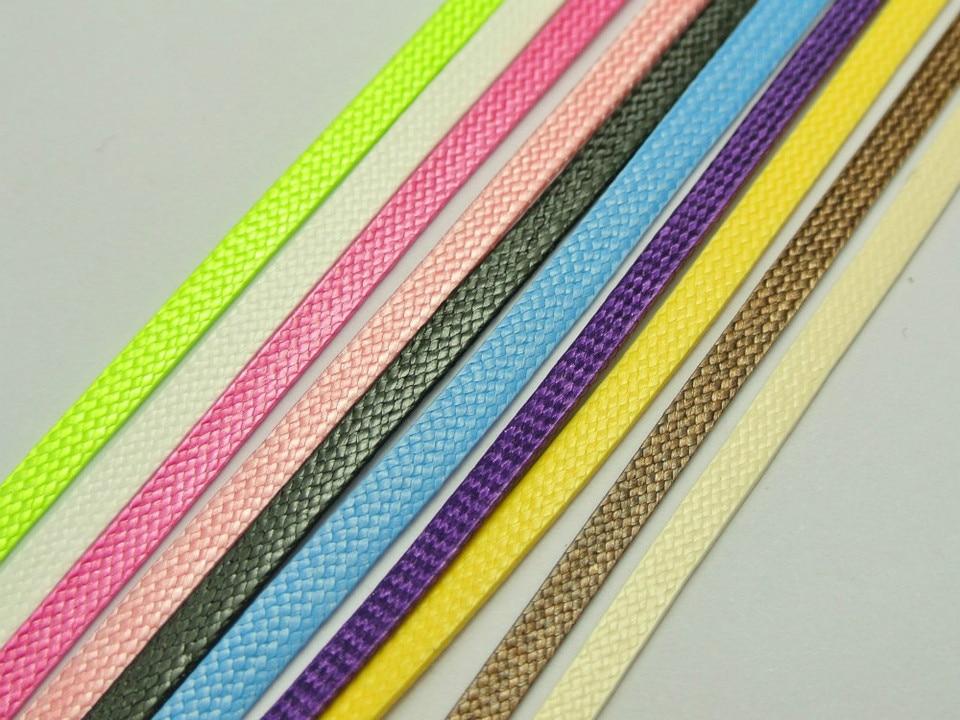 20 Meters Flat Korean Waxed Cord Craft Lace String Thread 4mm Threading Thread Thread Lacethread Cord Aliexpress