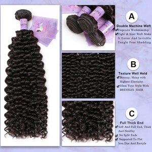 Image 3 - Cheveux naturels non remy bouclés malaisiens Jerry, cheveux humains, 4x4, avec lace closure, couleur naturelle, 8 à 26 pouces, faible Ratio