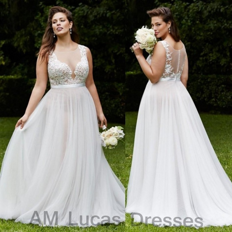Luxury A Line Wedding Dresses 2017 Chiffon Bridal Dress Party Gowns Fairytale Princess Robe De Mariage