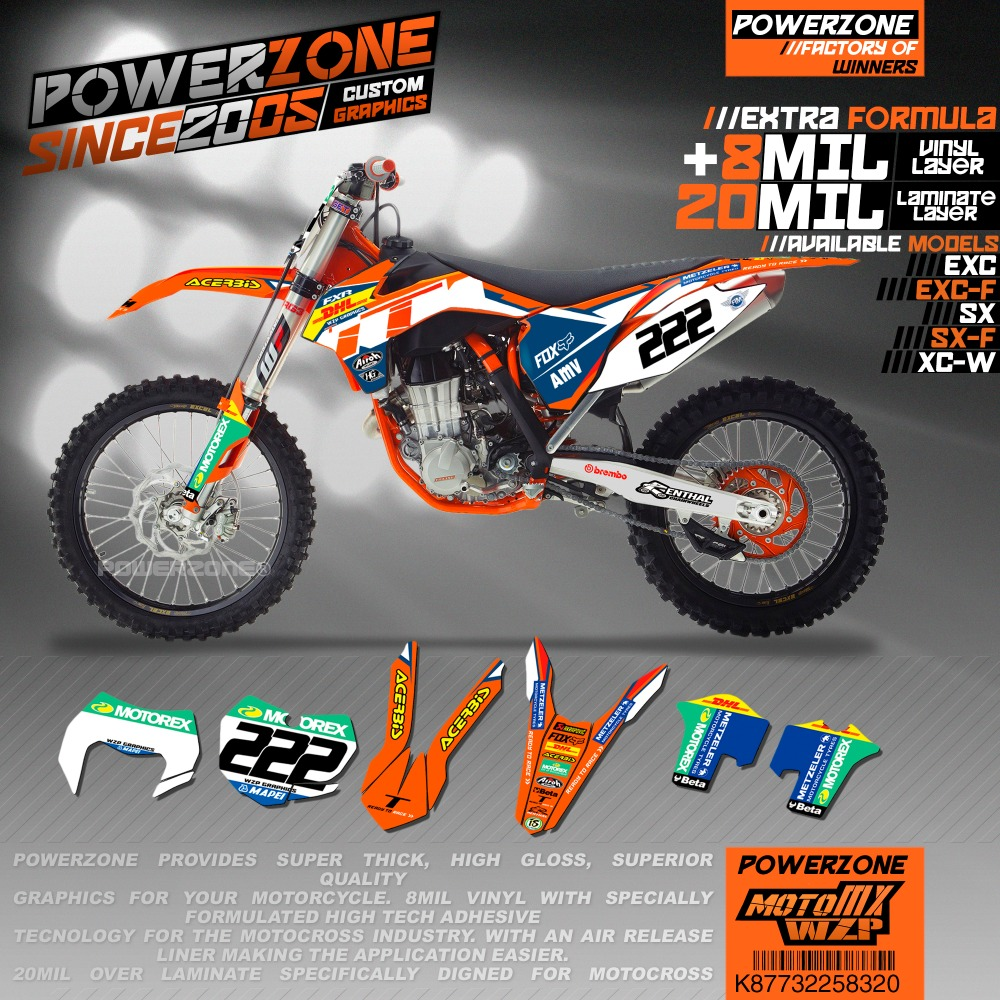 PowerZone Customize Team Graphics Backgrounds Decals Custom Stickers DH222 Style Kit For KTM SX SXF EXC Sixdays K87732258320PowerZone Customize Team Graphics Backgrounds Decals Custom Stickers DH222 Style Kit For KTM SX SXF EXC Sixdays K87732258320