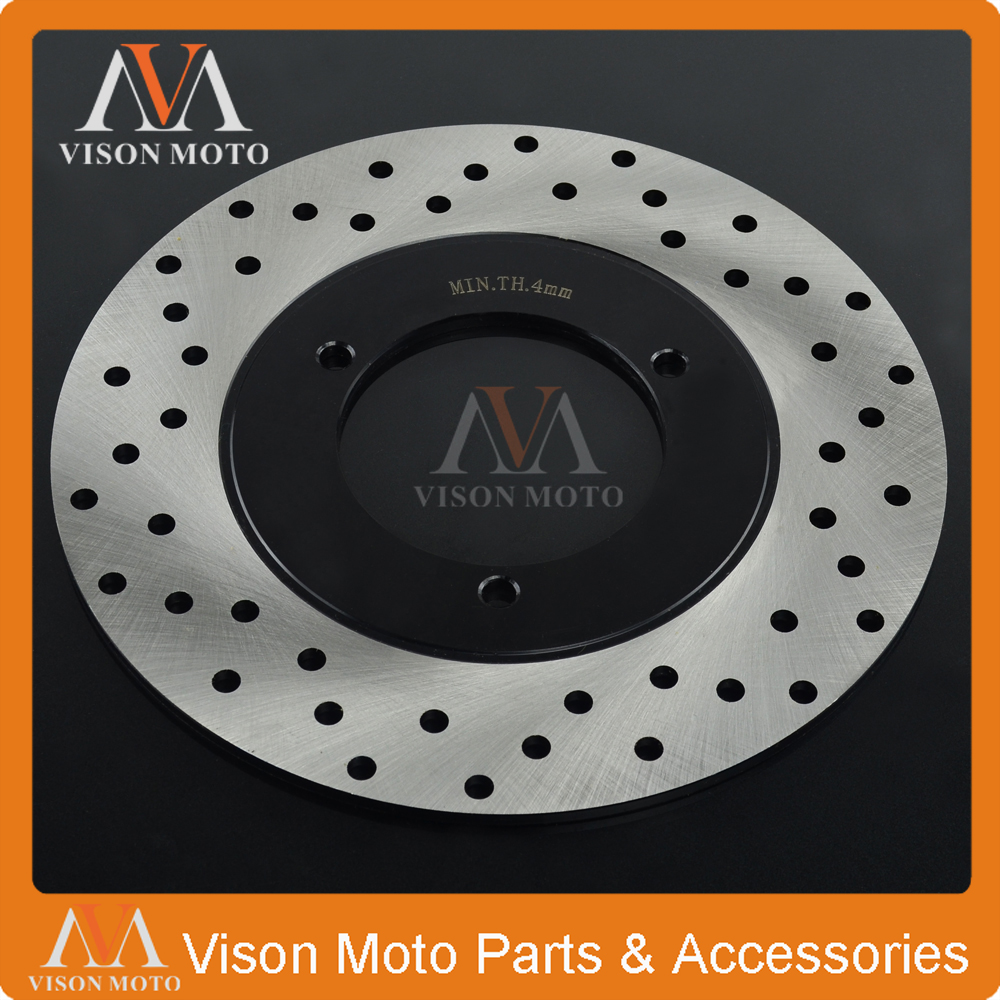 Motorcycle Rear Brake Disc Rotor For YAMAHA YP250 YP 250 Majesty 1996 1997 1998 1999 2000 2001 2002 Skyliner 96 97 98 motorcycle front brake disc rotor cb250f hornet cb250 cb 250 1996 1997 98 99 2000 2001 vtr250 vtr 250 mc33 1998 2005 2006 2007