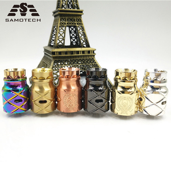 NEW X comp lyfe style RDA 24mm diamater fit 510thread  Rebuildable electric cigarette Dripping Tank Atomizer Big Vapor Tank RDA цена 2017