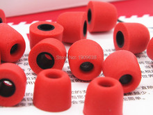 1 pair T100 T200 T400 Earphone tips Memory Foam Sponge ear pads for headphones 3/5 mm Caliber Headset accessories Earplug mq77 superb 3 5 mm on ear headphones w microphone black red 1 2m cable