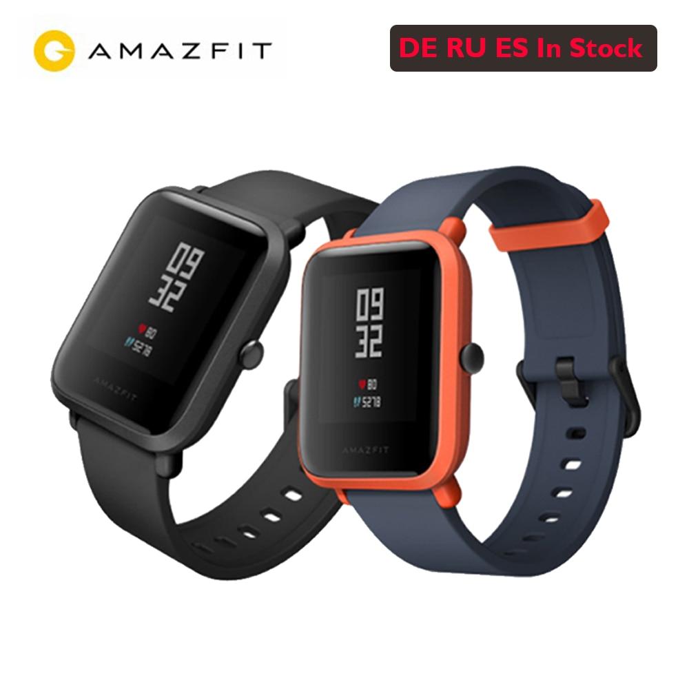 7163d50f719 International version Xiaomi Huami Amazfit BIP BIT PACE GPS IP68 Waterproof  Youth Smart watch 1.28
