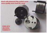 Free shipping 8pcs black diesel fuel injector nozzle control valve 28239294 9308 621C 28440421 common rail control valve