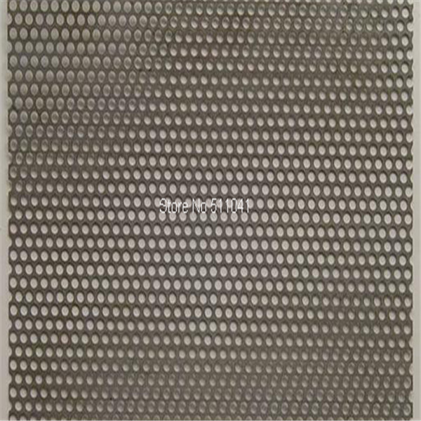 Zirconium Perforated metal mesh,Zirconium mesh,Zr mesh цена