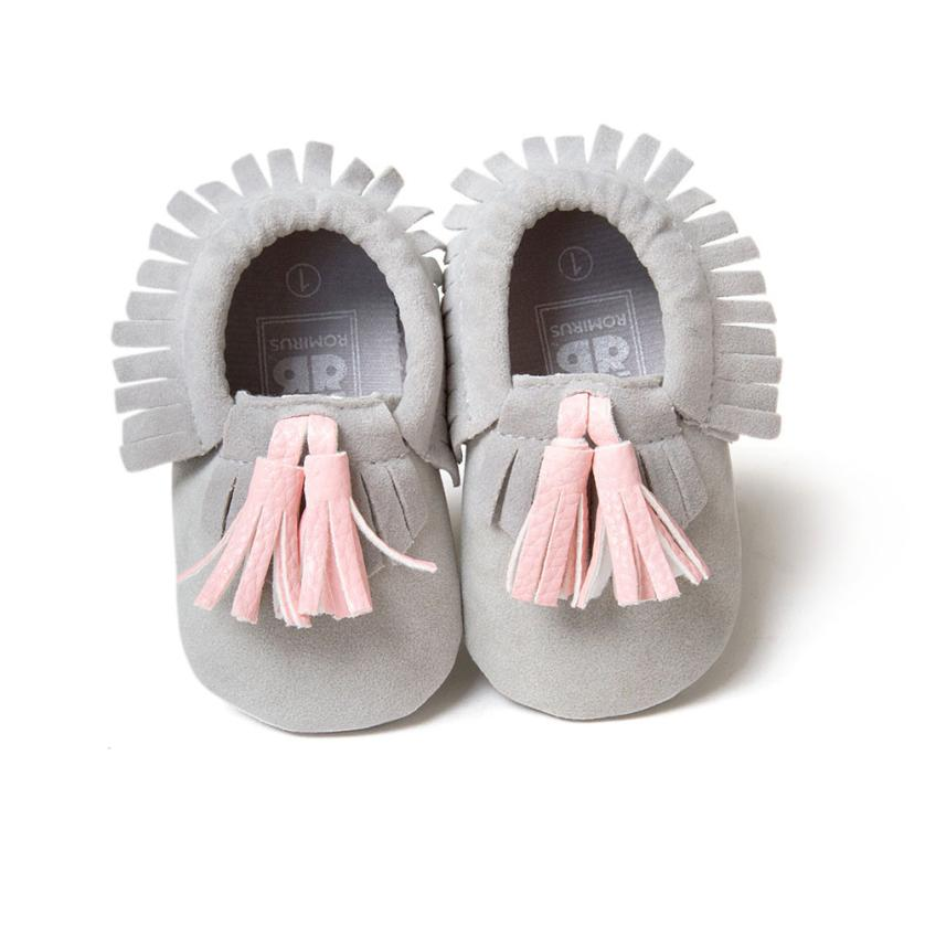 Baby Shoes Newborn Baby Boy Girls Soft Sole Crib Shoes Anti Slip Tassel Leather Baby Shoes Clothing Shoes Accessories Vishawatch Com