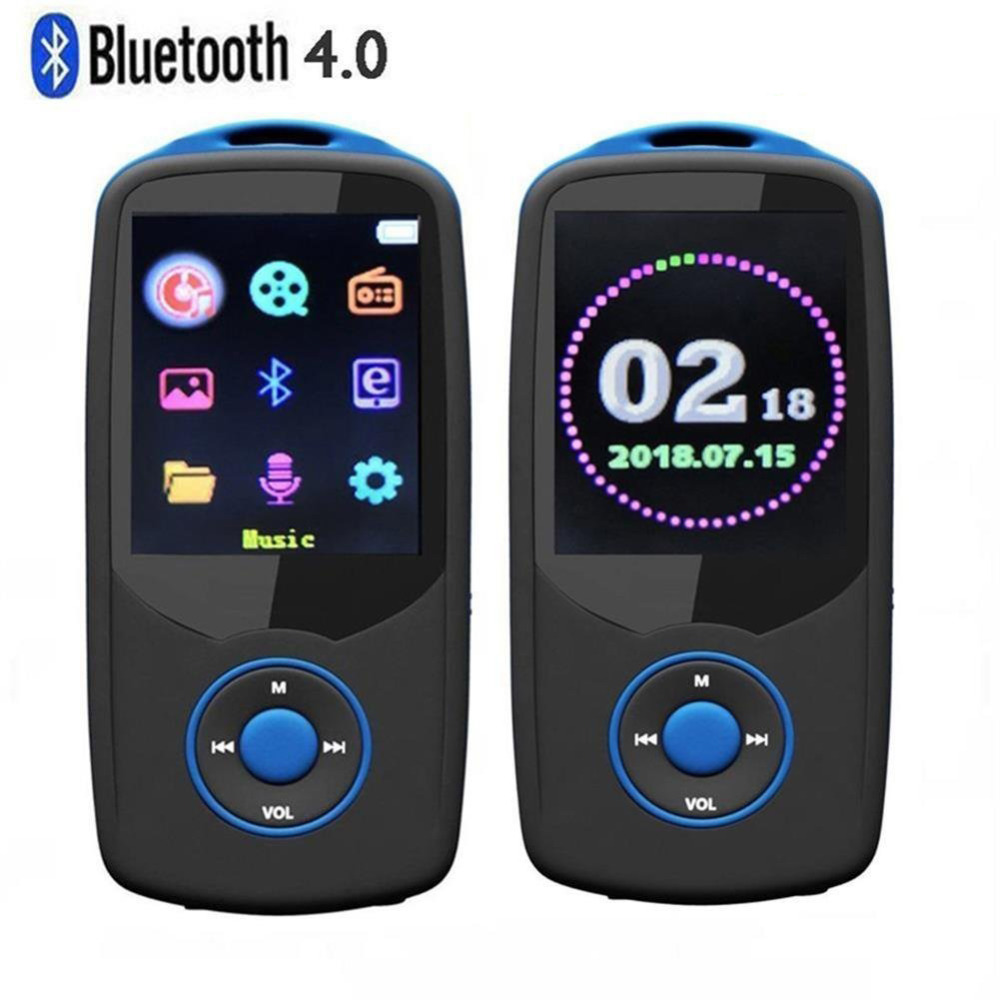 New Version Bluetooth MP4 Player Original RUIZU X06 Color Menu High Quality Lossless Voice Recorder FM Radio Audio Video Player цена