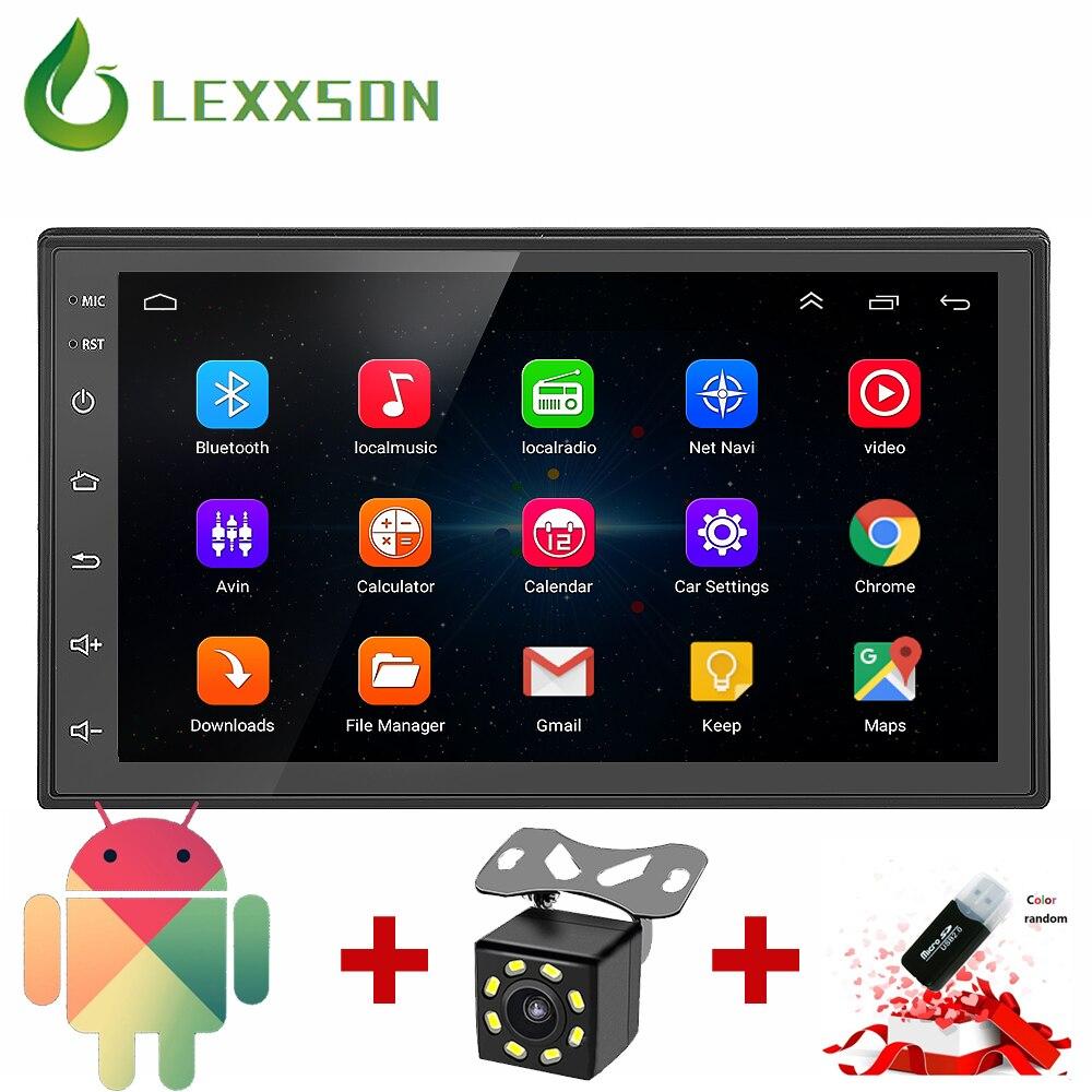 2 Din Car Radio GPS Navigation <font><b>Android</b></font> 6.0 Car Audio Player Touch Screen Quad Core Car radio USB Bluetooth Player Autoradio 12V