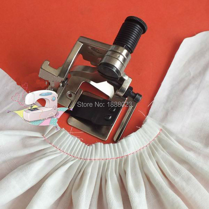 Industrial Sewing Machine Pleating Presser Foot Wrinkles Presser Foot Clothing Pleating Presser Foot Big Folds Made In China
