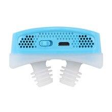 Новое Силиконовое анти храп электронное устройство для дыхания носом носорасширитель помощь при апноэ устройство стоп храп устройства дропшиппинг