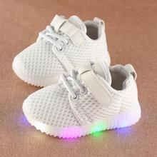 Hot SALE Children Shoes With Light New Popular in Europe Bab