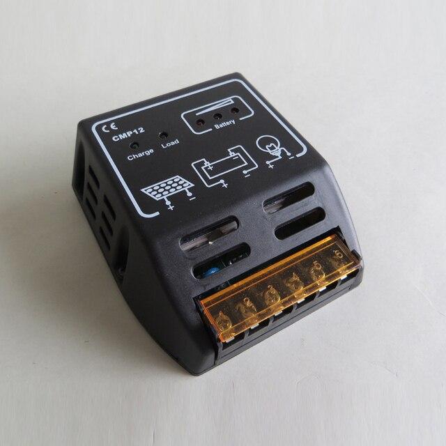 10A CMP12 12V 24V intelligence Solar cells Panel Battery Charge Controller Regulators