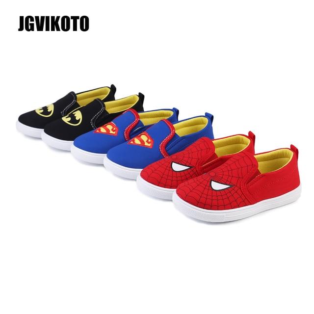 df95fdcfc1 Superman Batman Spiderman Fashion Boys Shoes Toddler Boy Kids Sports Shoes  Children Running Sneakers Spider-