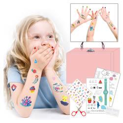 Игрушки палочки татуировки Корейская Принцесса наклейки для ногтей безопасности и охраны окружающей среды для девочек подарок на день
