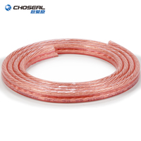 CHOSEAL Professional OFC Copper Audio Speaker Engineering Cable Line for Audio Stereo Amplifier Surround Sound Car Speaker