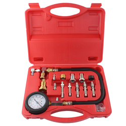 Automotive Tools TU-15A Dieselmotor Compressie Tester Kit Motor Manometer 0 ~ 1000psi