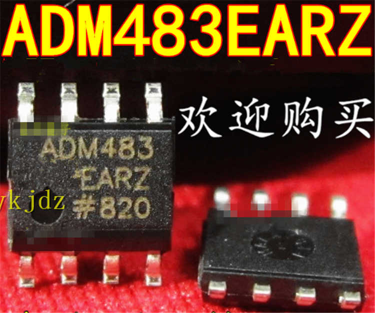 1PCS/Lot ,  ADM483 ADM483EARZ ADM483EAR RS485 SOP-8  ,New Oiginal Product New original  fast delivery