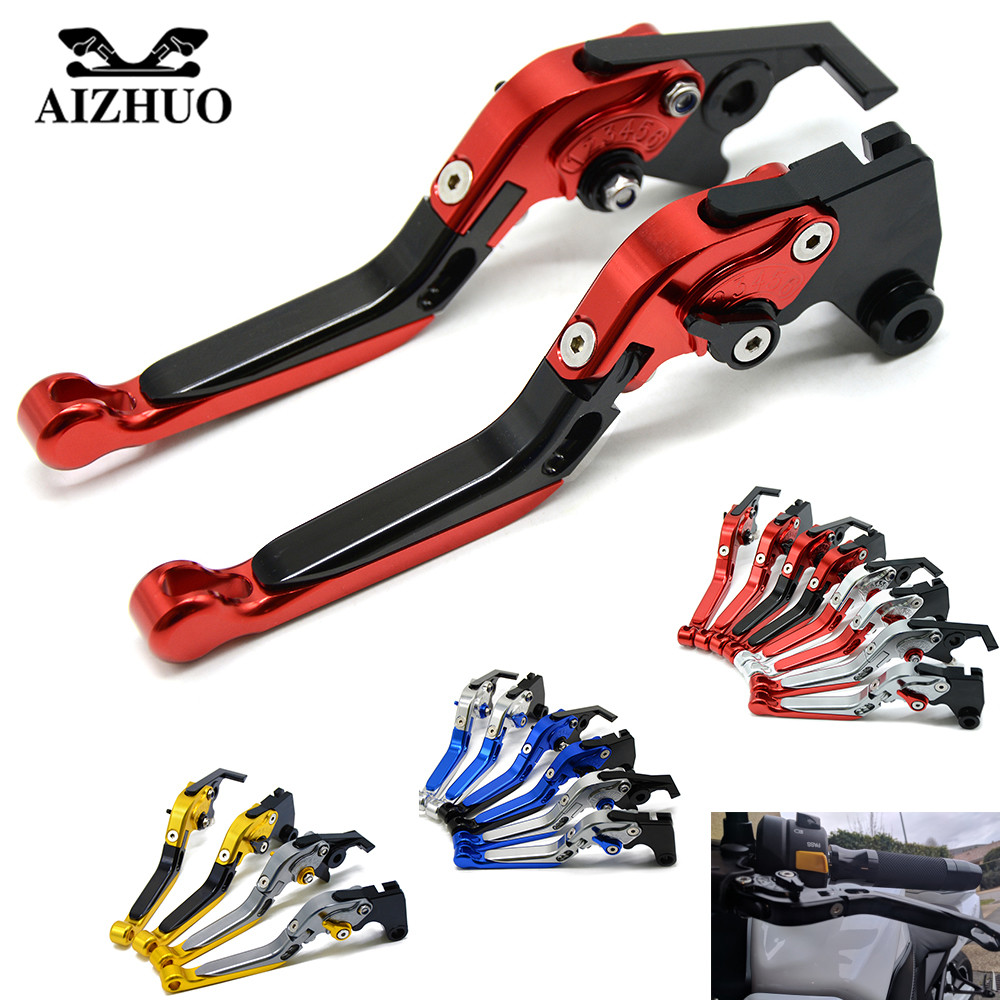 Brake Clutch Levers Universal Motorcycle Accessories Folding Extendable Brake Clutch Levers For HONDA X-11 1999 2000 2001 2002