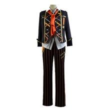 купить Free shipping THE ANIMATION UDUKI ARATA cosplay costume clothing halloween anime coat jacket one set uniform дешево