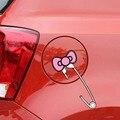 Крышка топливного Бака Hello Kitty Автомобилей Наклейки Автомобилей Стайлинга Автомобилей Карро Аксессуары Авто Adesivo Таблички Автомобиля Pegatinas