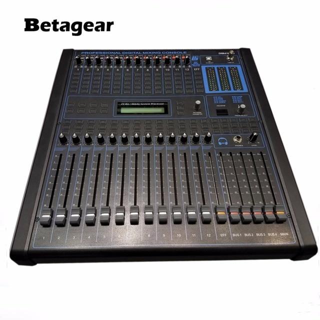 buy betagear professional digital audio mixing console 12 channel audio dj. Black Bedroom Furniture Sets. Home Design Ideas
