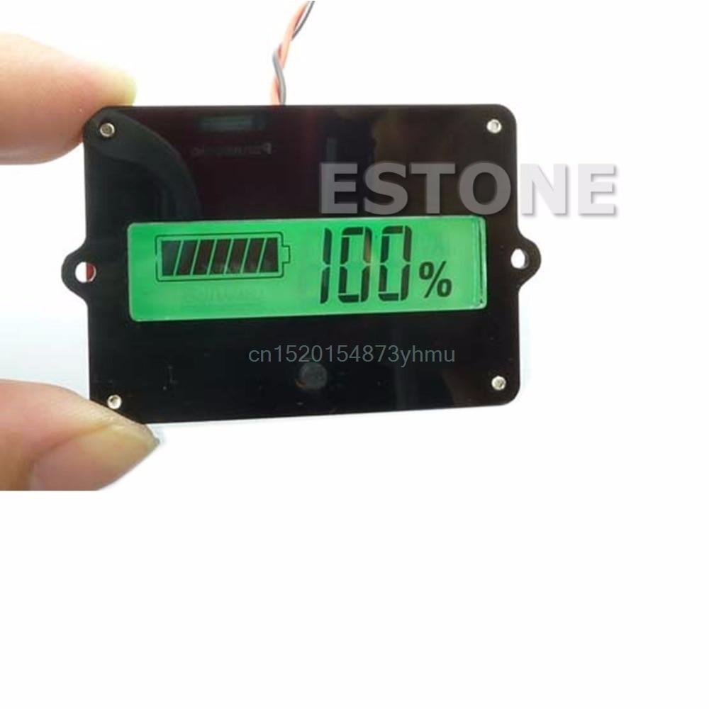 Батарея 12 В 24 В 36 В 48 В Ёмкость индикатор тестер для свинцово-кислотная литий LiPo ЖК-дисплей лучше тестеры # l057 # Новый горячий