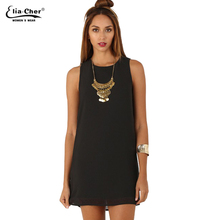 Summer Dress 2016 Women Dress Eliacher Brand Plus Size Causal Women Clothing Chic Evening Party Chiffon Dresses vestidos