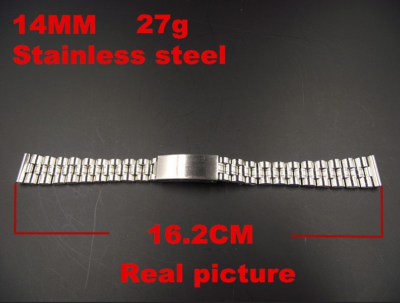 Wholesale 20PCS/lots High quality 14mm stainless steel watch band watch strap - 502909 | Watchbands
