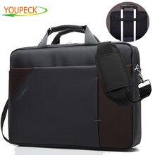 Larger Capacity Business Laptop Bag 15 6 15 Inch Notebook bag men women Shoulder Messenger bags