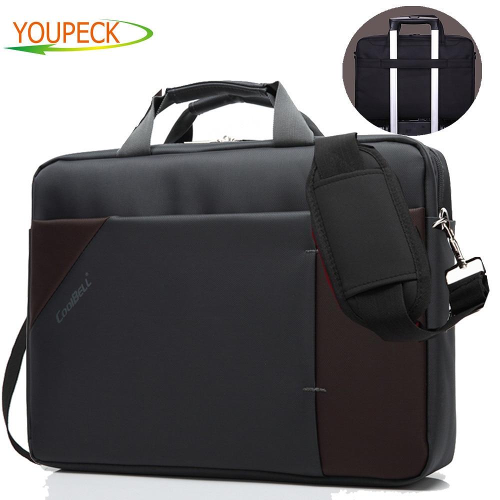 Larger Capacity Business font b Laptop b font Bag 15 6 15 Inch Notebook bag men