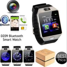 Smart Watch DZ09 Gold Orange White Black Smartwatch Bluetooth Watches For IOS Android Iphone SIM Card Camera 1.56Inch