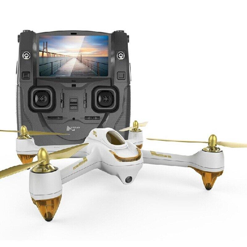 Original Hubsan H501S H501SS X4 Pro 5.8G FPV Brushless W/1080 P HD caméra GPS RTF suivez-moi Mode quadrirotor hélicoptère RC Drone
