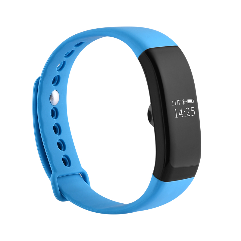 New Arrival Heart Rate Monitor Bluetooth Fitness Smart Bracelet for HTC Samsung S7 iPhone 7 V66